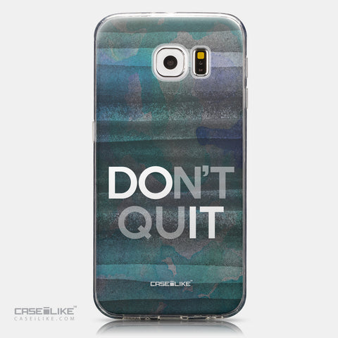 CASEiLIKE Samsung Galaxy S6 back cover Quote 2431
