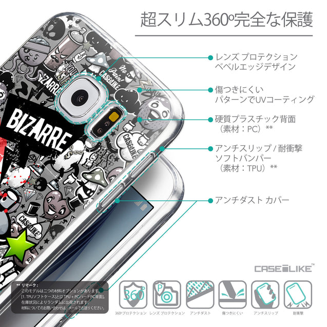 Details in Japanese - CASEiLIKE Samsung Galaxy S6 back cover Graffiti 2705