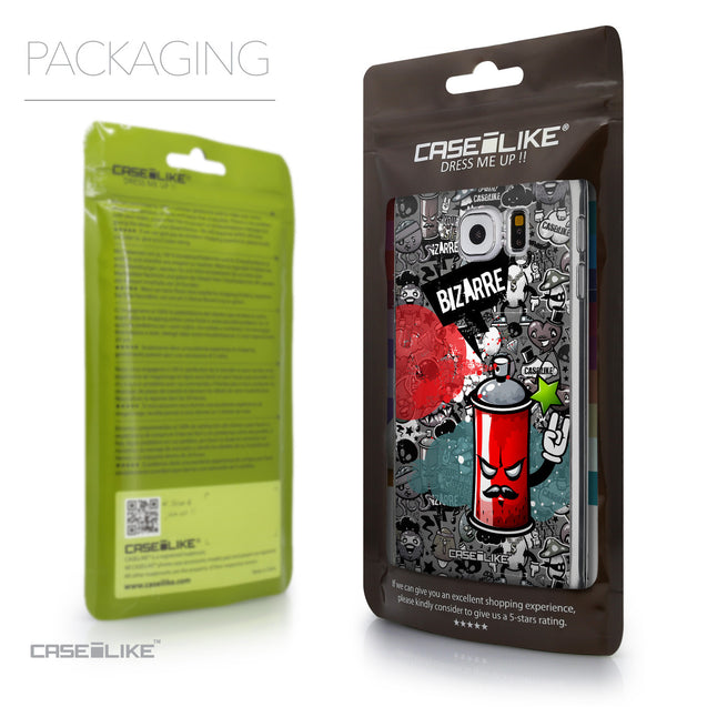 Packaging - CASEiLIKE Samsung Galaxy S6 back cover Graffiti 2705