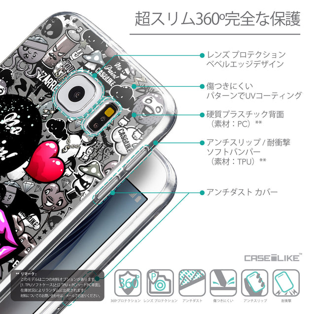 Details in Japanese - CASEiLIKE Samsung Galaxy S6 back cover Graffiti 2708