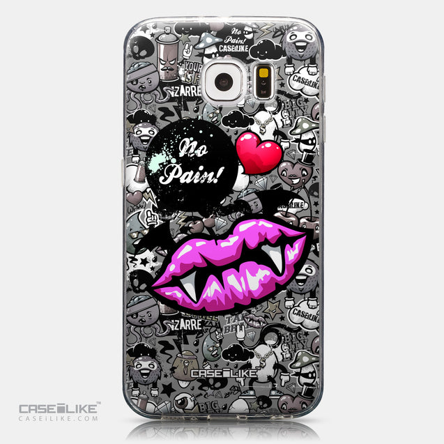 CASEiLIKE Samsung Galaxy S6 back cover Graffiti 2708