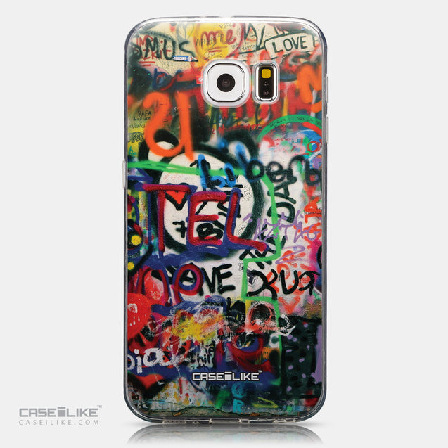 CASEiLIKE Samsung Galaxy S6 back cover Graffiti 2721