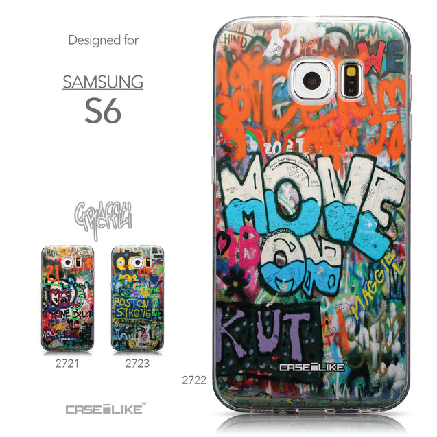 Collection - CASEiLIKE Samsung Galaxy S6 back cover Graffiti 2722