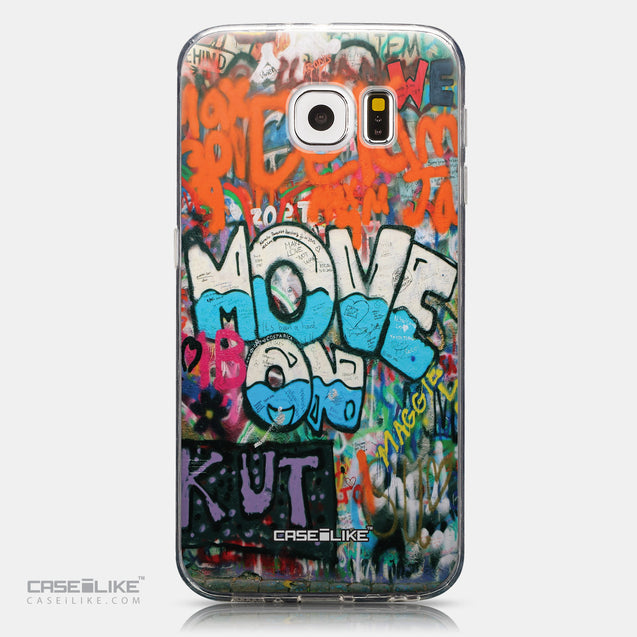 CASEiLIKE Samsung Galaxy S6 back cover Graffiti 2722