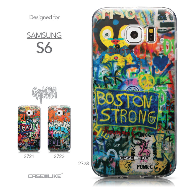 Collection - CASEiLIKE Samsung Galaxy S6 back cover Graffiti 2723