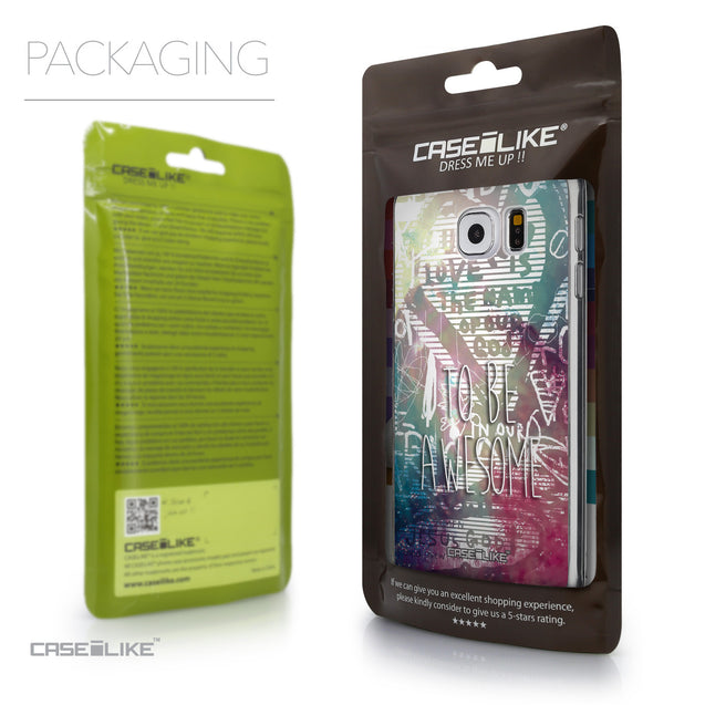 Packaging - CASEiLIKE Samsung Galaxy S6 back cover Graffiti 2726