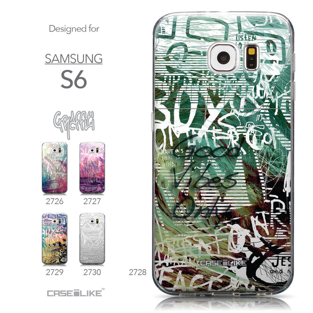 Collection - CASEiLIKE Samsung Galaxy S6 back cover Graffiti 2728