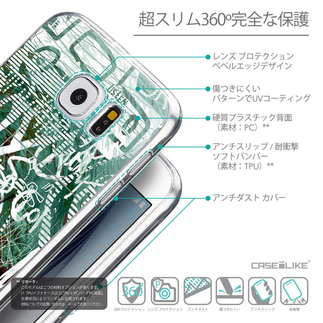 Details in Japanese - CASEiLIKE Samsung Galaxy S6 back cover Graffiti 2728