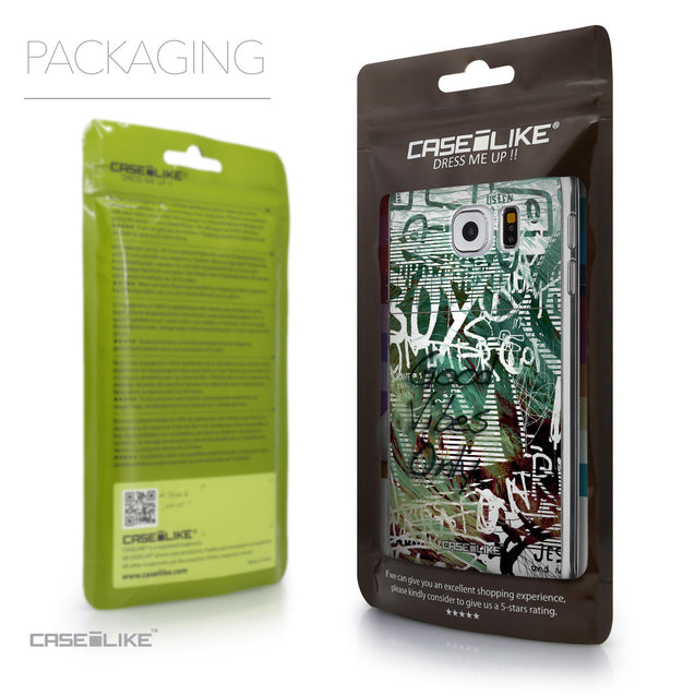 Packaging - CASEiLIKE Samsung Galaxy S6 back cover Graffiti 2728