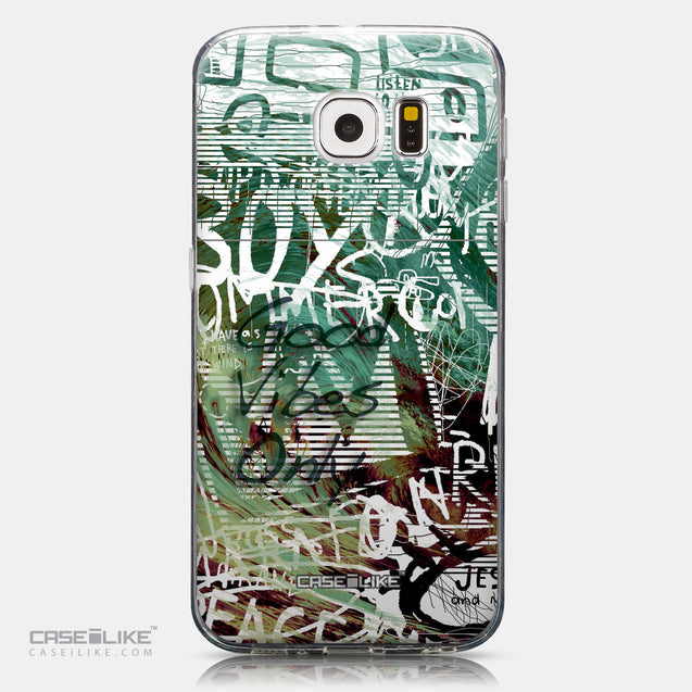 CASEiLIKE Samsung Galaxy S6 back cover Graffiti 2728