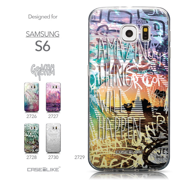 Collection - CASEiLIKE Samsung Galaxy S6 back cover Graffiti 2729