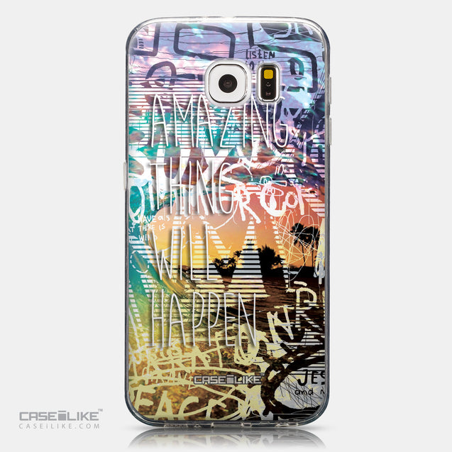 CASEiLIKE Samsung Galaxy S6 back cover Graffiti 2729