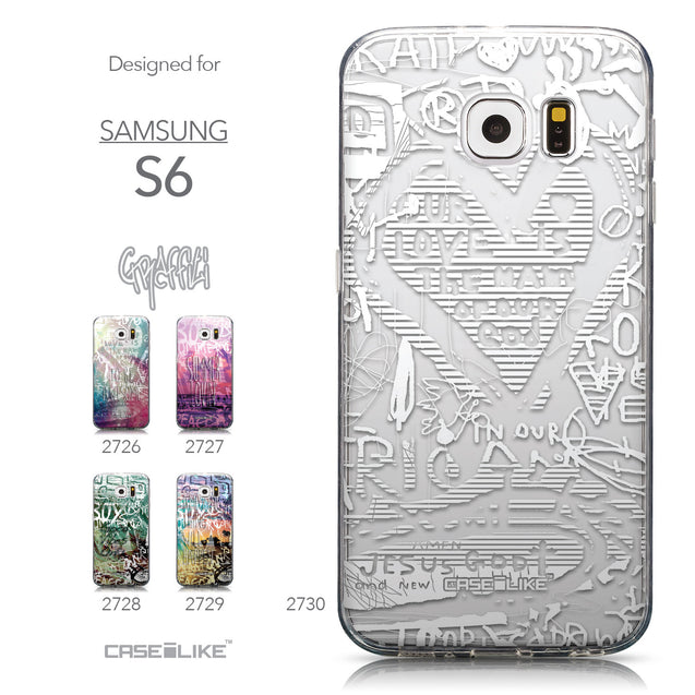 Collection - CASEiLIKE Samsung Galaxy S6 back cover Graffiti 2730