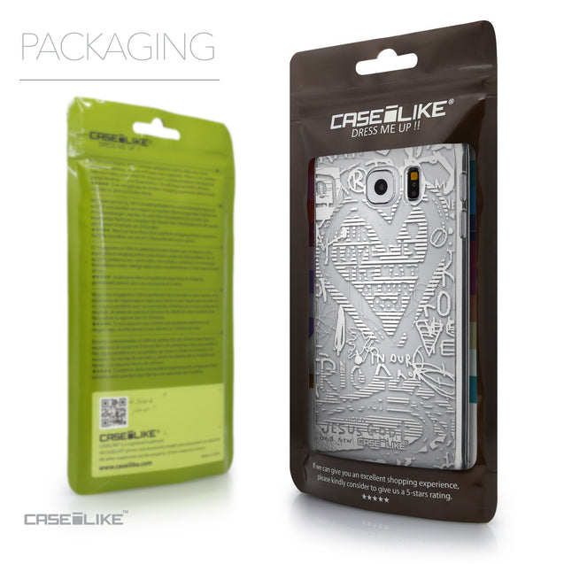 Packaging - CASEiLIKE Samsung Galaxy S6 back cover Graffiti 2730