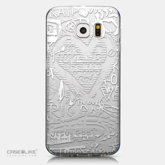 CASEiLIKE Samsung Galaxy S6 back cover Graffiti 2730