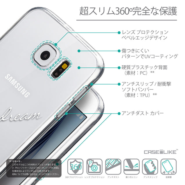 Details in Japanese - CASEiLIKE Samsung Galaxy S6 back cover Owl Graphic Design 3314