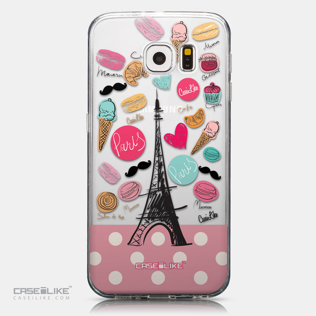 CASEiLIKE Samsung Galaxy S6 back cover Paris Holiday 3904