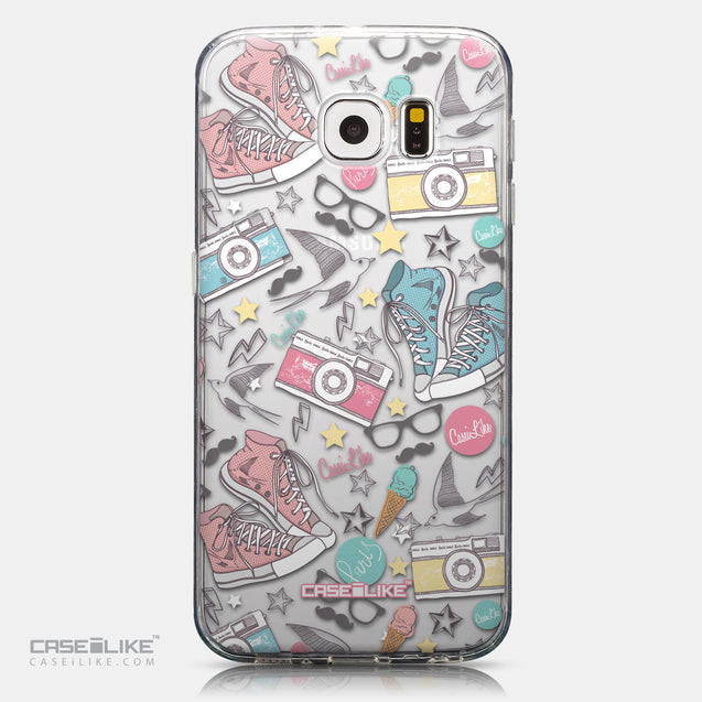 CASEiLIKE Samsung Galaxy S6 back cover Paris Holiday 3906