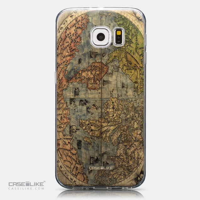 CASEiLIKE Samsung Galaxy S6 back cover World Map Vintage 4608