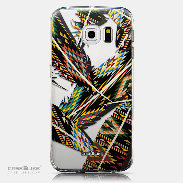 CASEiLIKE Samsung Galaxy S6 Edge back cover Indian Tribal Theme Pattern 2053
