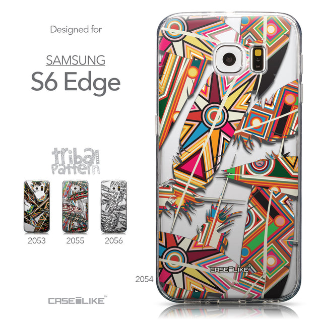 Collection - CASEiLIKE Samsung Galaxy S6 Edge back cover Indian Tribal Theme Pattern 2054