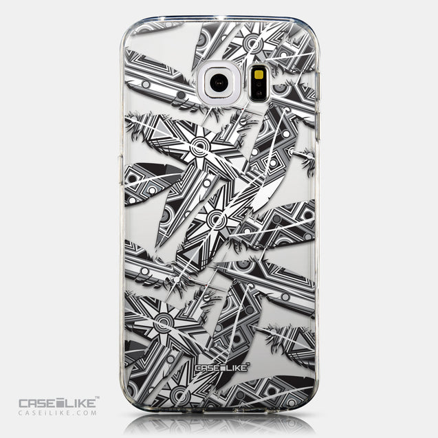CASEiLIKE Samsung Galaxy S6 Edge back cover Indian Tribal Theme Pattern 2056