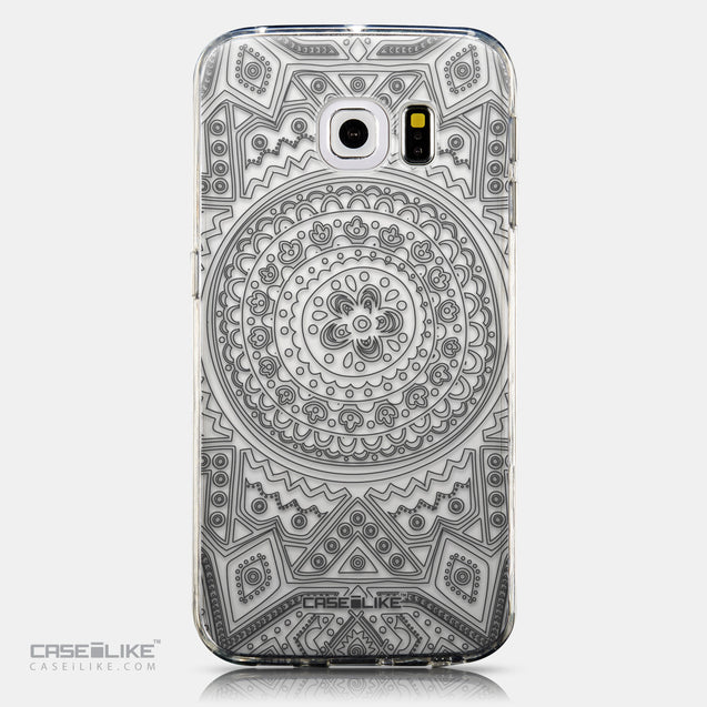CASEiLIKE Samsung Galaxy S6 Edge back cover Indian Line Art 2063