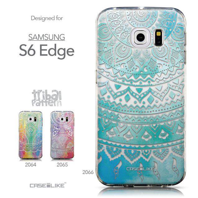 Collection - CASEiLIKE Samsung Galaxy S6 Edge back cover Indian Line Art 2066