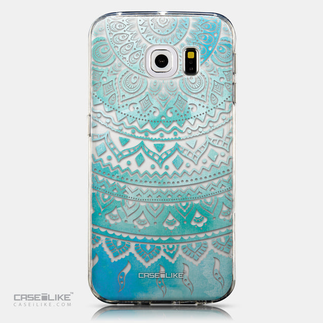 CASEiLIKE Samsung Galaxy S6 Edge back cover Indian Line Art 2066