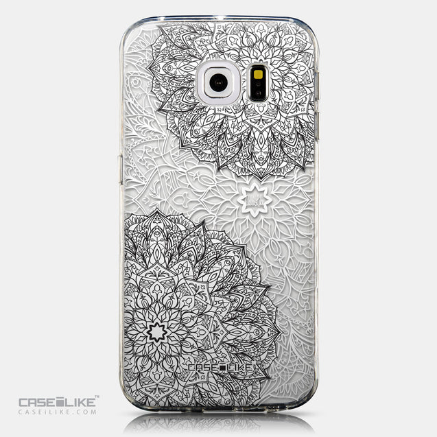CASEiLIKE Samsung Galaxy S6 Edge back cover Mandala Art 2093