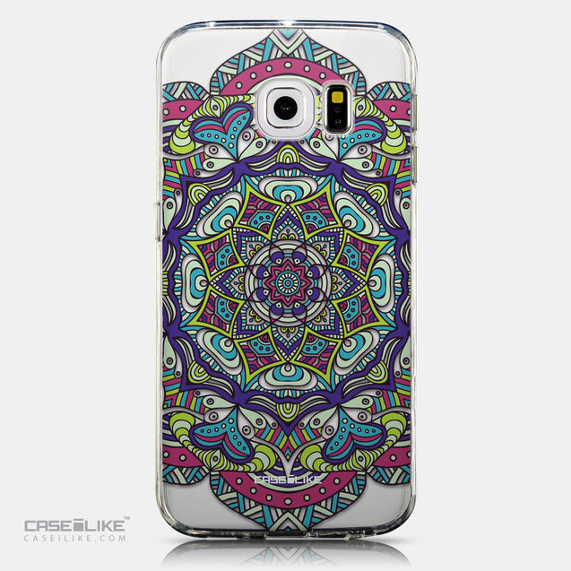 CASEiLIKE Samsung Galaxy S6 Edge back cover Mandala Art 2094
