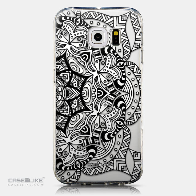CASEiLIKE Samsung Galaxy S6 Edge back cover Mandala Art 2096
