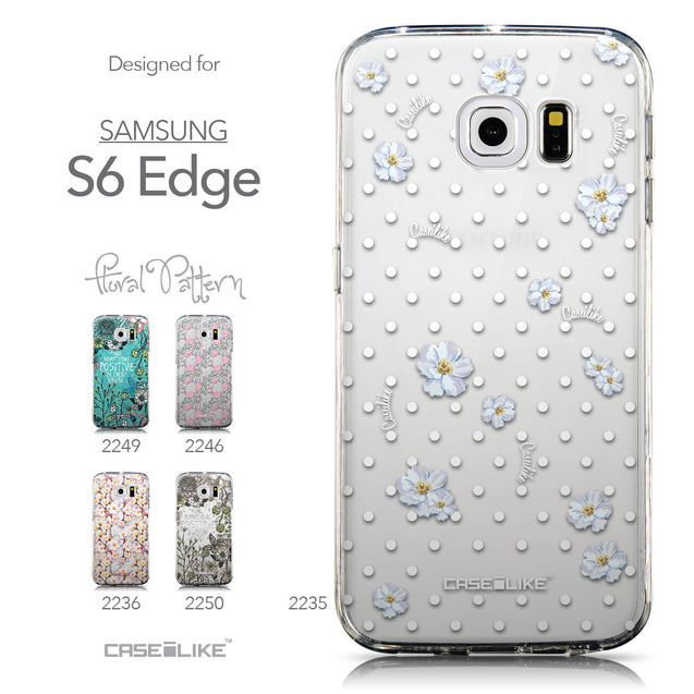 Collection - CASEiLIKE Samsung Galaxy S6 Edge back cover Indian Line Art 2061