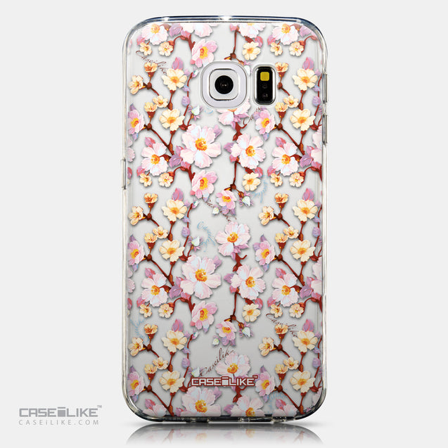 CASEiLIKE Samsung Galaxy S6 Edge back cover Watercolor Floral 2236