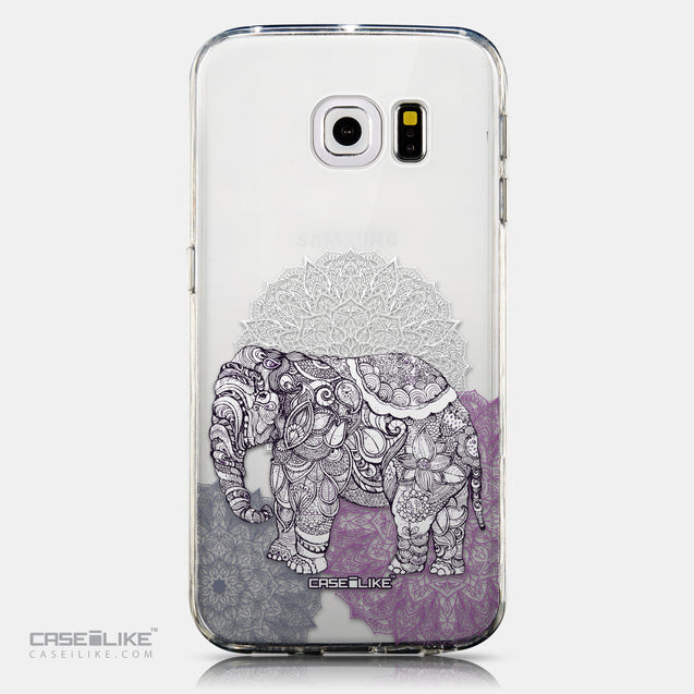 CASEiLIKE Samsung Galaxy S6 Edge back cover Mandala Art 2301