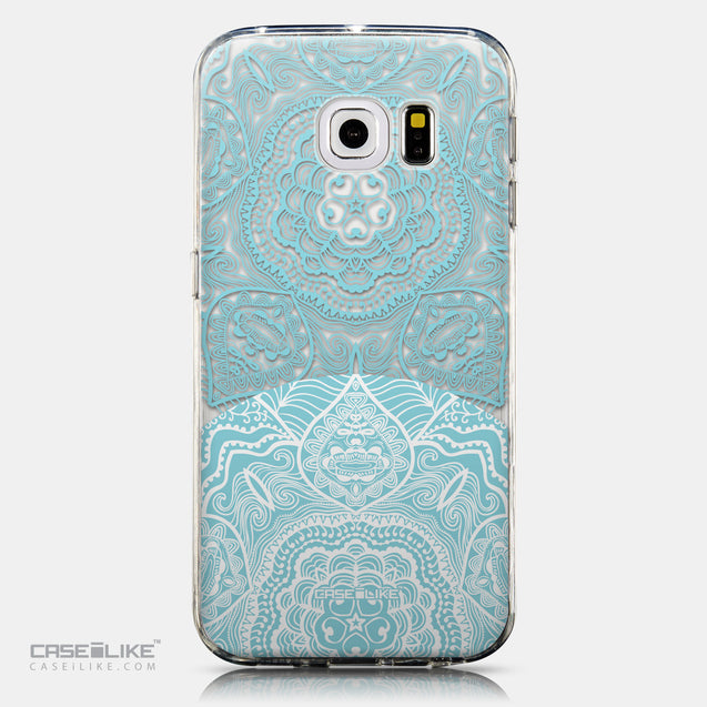 CASEiLIKE Samsung Galaxy S6 Edge back cover Mandala Art 2306