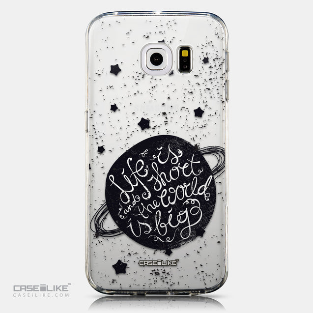 CASEiLIKE Samsung Galaxy S6 Edge back cover Quote 2401