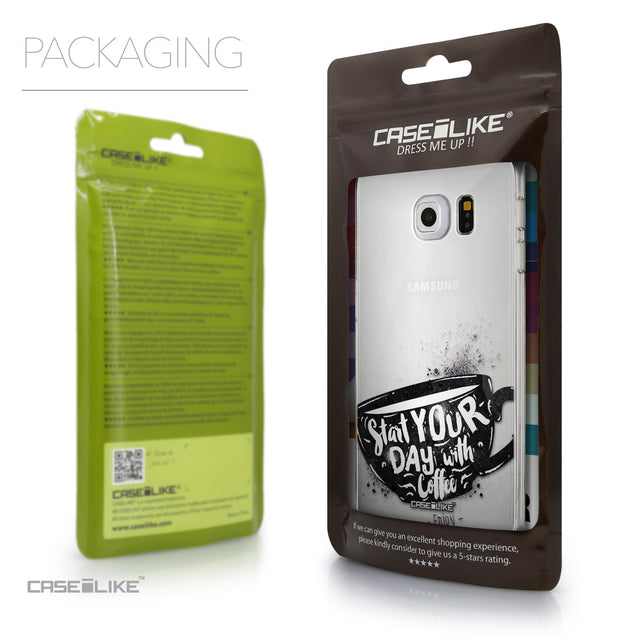 Packaging - CASEiLIKE Samsung Galaxy S6 Edge back cover Quote 2402