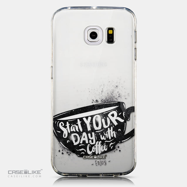CASEiLIKE Samsung Galaxy S6 Edge back cover Quote 2402