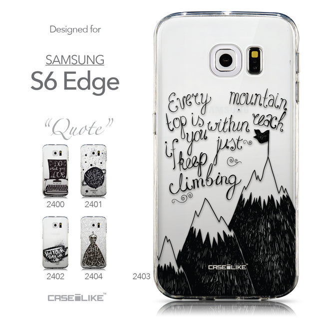 Collection - CASEiLIKE Samsung Galaxy S6 Edge back cover Indian Tribal Theme Pattern 2053