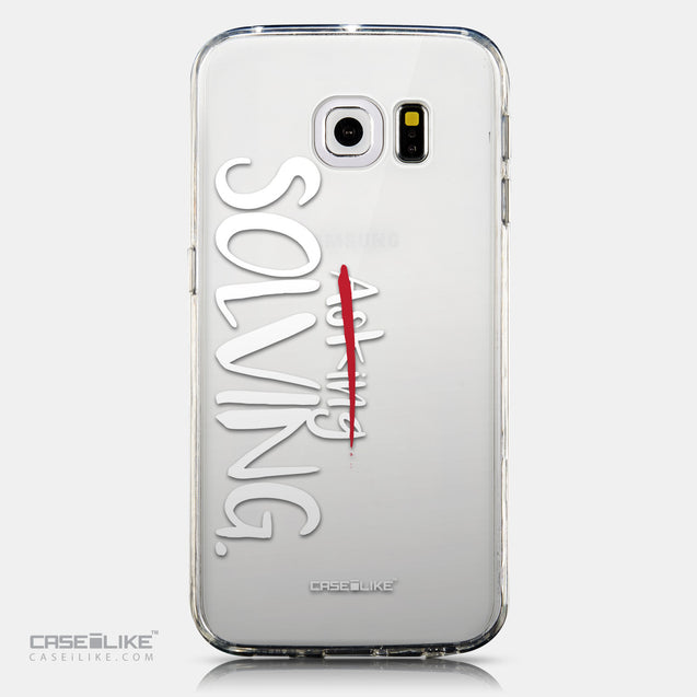 CASEiLIKE Samsung Galaxy S6 Edge back cover Quote 2412