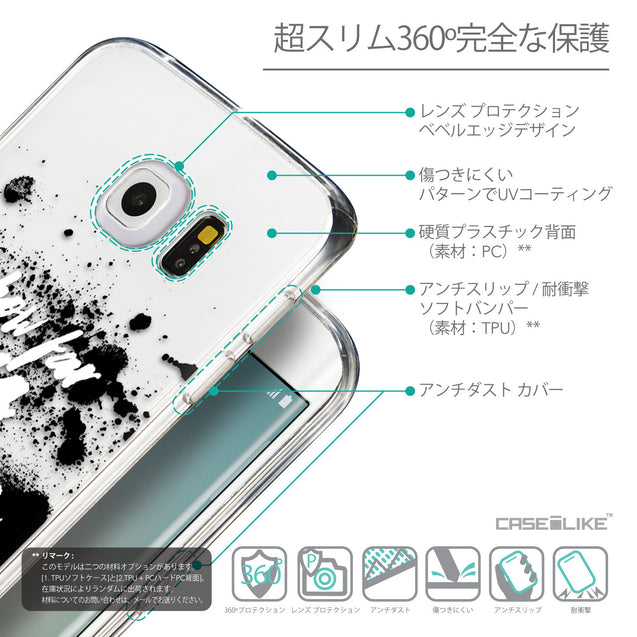 Details in Japanese - CASEiLIKE Samsung Galaxy S6 Edge back cover Quote 2413