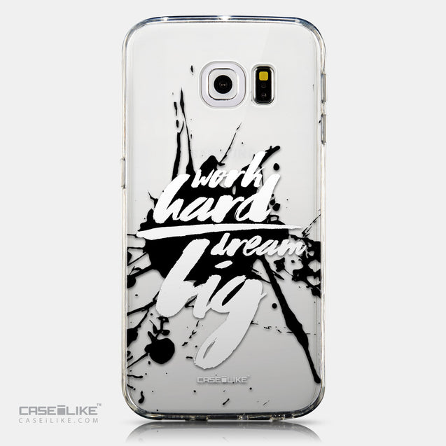 CASEiLIKE Samsung Galaxy S6 Edge back cover Quote 2414