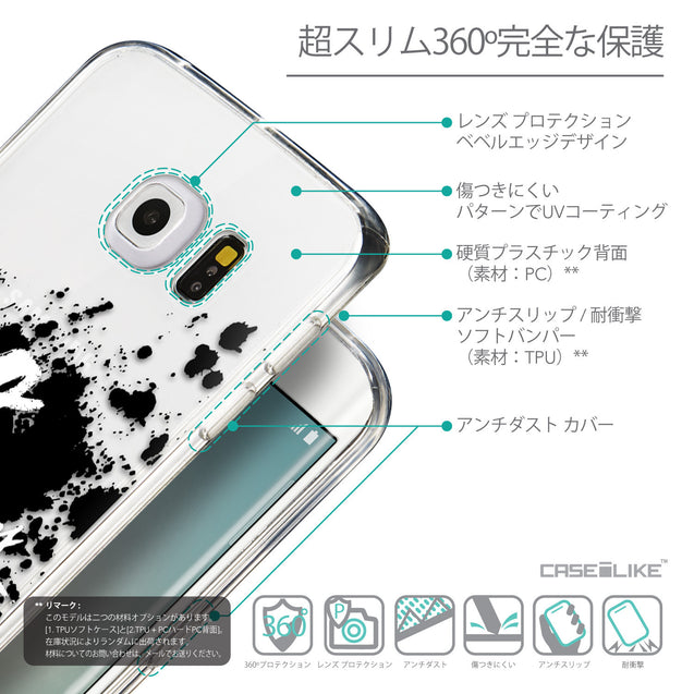 Details in Japanese - CASEiLIKE Samsung Galaxy S6 Edge back cover Quote 2415