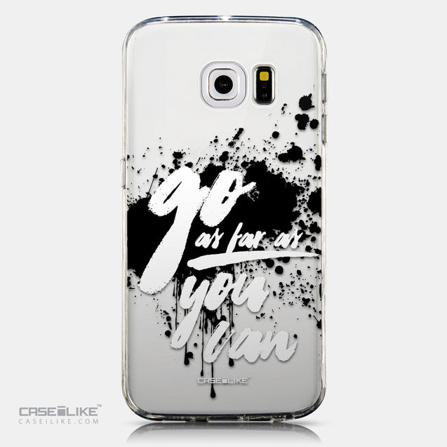CASEiLIKE Samsung Galaxy S6 Edge back cover Quote 2415