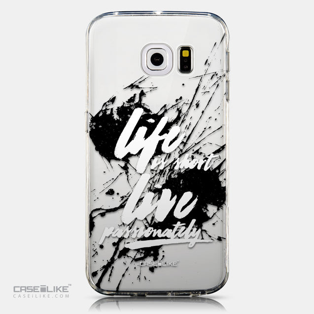 CASEiLIKE Samsung Galaxy S6 Edge back cover Quote 2416