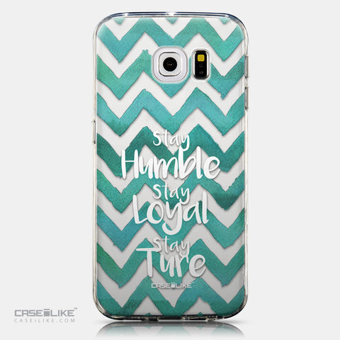 CASEiLIKE Samsung Galaxy S6 Edge back cover Quote 2418