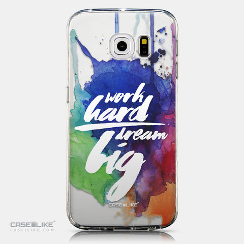 CASEiLIKE Samsung Galaxy S6 Edge back cover Quote 2422
