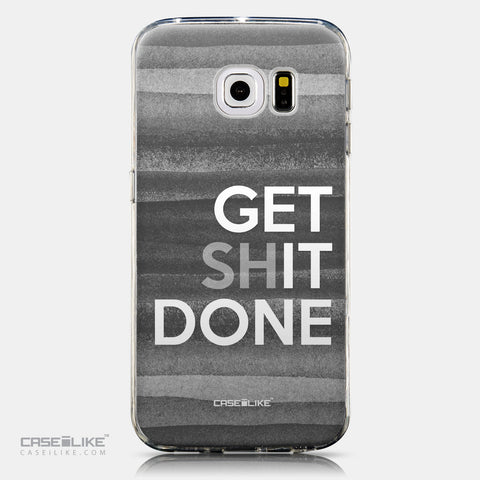 CASEiLIKE Samsung Galaxy S6 Edge back cover Quote 2429