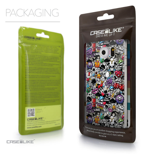 Packaging - CASEiLIKE Samsung Galaxy S6 Edge back cover Graffiti 2703
